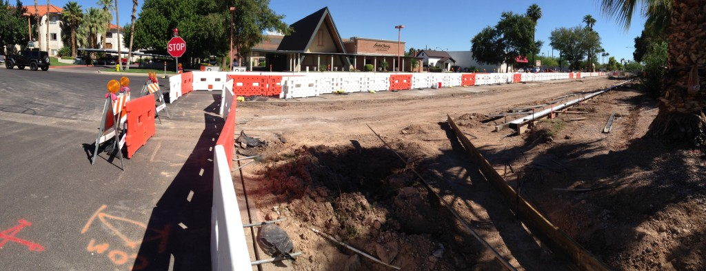 SafetyWall Installation, Mesa AZ, Sept 2014